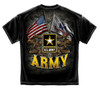 """**(NEW-OFFICIALLY-LICENSED-U.S.ARMY,""""ARMY-STAR,DOUBLE-FLAGS & THIS-WE'LL-DEFEND""""/NICE-GRAPHIC-PRINTED-PREMIUM-DOUBLE-SIDED-ARMY-TEES:)**"""
