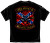 **(REDNECK-BROTHERHOOD & SOUTHERN-REBEL-FLAG-WITH-SKULL,NICE-3D-CUSTOM-GRAPHIC-PRINTED-DOUBLE-SIDED-REBEL-PREMIUM-TEES)**