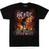 **(OFFICIALLY-LICENSED-A.C./D.C. HELLS-BELLS,FEATURING-GUITARIST-ANGUS-YOUNG & FLAMING-ROCK-GUITAR-SOLO-TEES,NICE-CUSTOM-GRAPHIC-PRINTED/PREMIUM-CONCERT-TEE-SHIRTS)**
