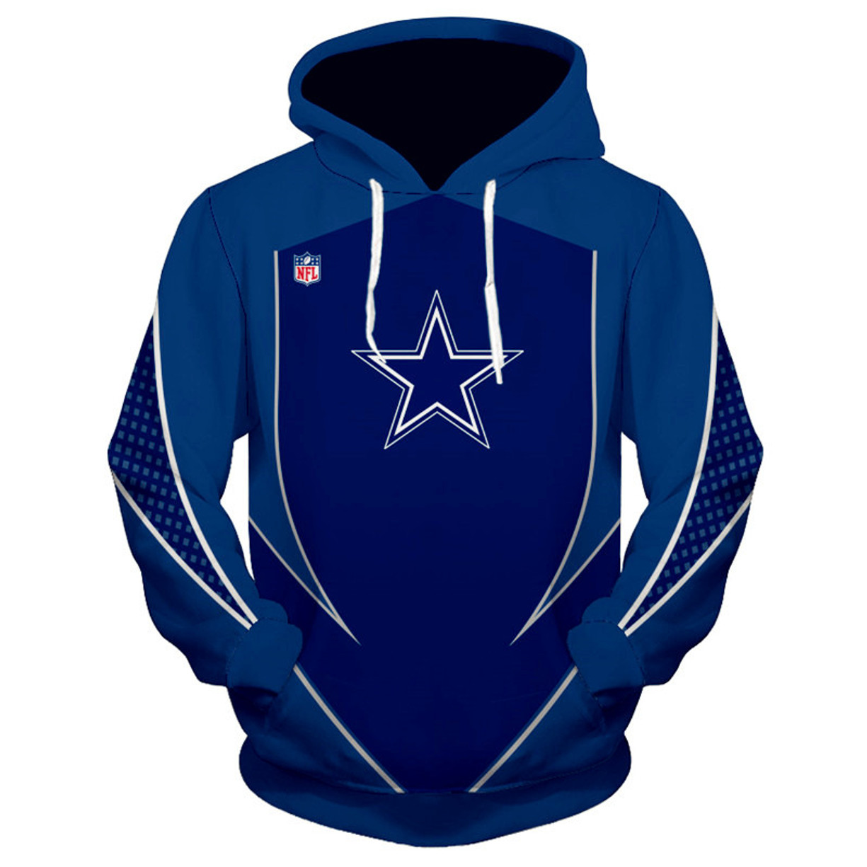 5e584ba3 OFFICIALLY-LICENSED-N.F.L. DALLAS-COWBOYS-TEAM-PULLOVER-HOODIES/NICE ...