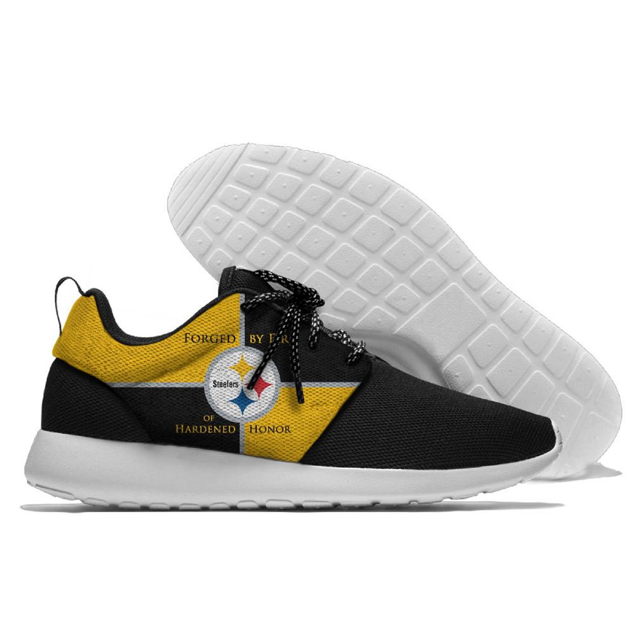 (NEW-OFFICIALLY-LICENSED-N.F.L.PITTSBURGH-STEELERS-RUNNING-SHOES e5d54bca4