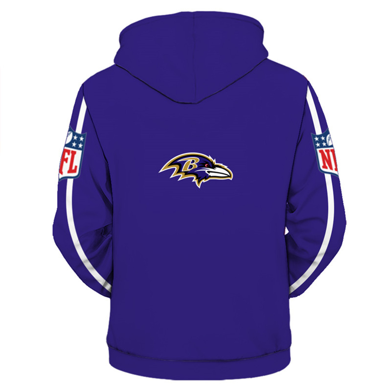 bd3d2995745   (OFFICIALLY-LICENSED-N.F.L.BALTIMORE-RAVENS-TRENDY-PULLOVER-TEAM-HOODIES  NICE-CUSTOM-3D-GRAPHIC-PRINTED-DOUBLE-SIDED-ALL-OVER-OFFICIAL-RAVENS-LOGOS  ...