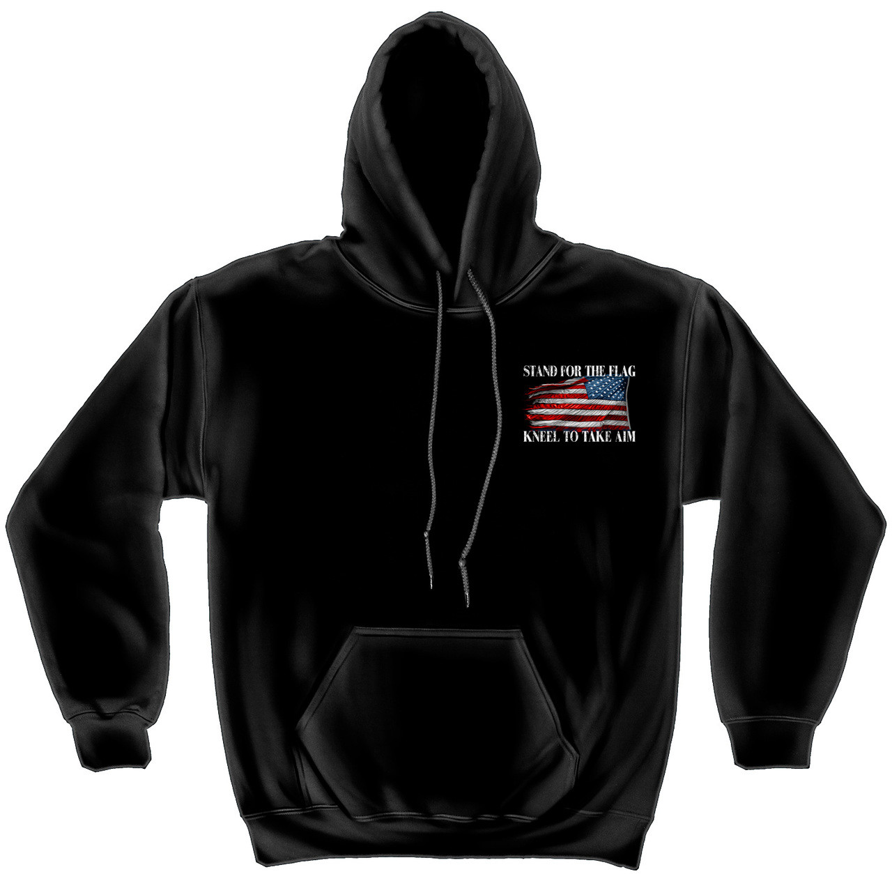 san francisco 4b5da 833db **(OFFICIALLY-LICENSED-U.S.MILITARY-COMBAT-VETERANS &  PATRIOT-STAND-FOR-THE-FLAG/KNEEL-AND-TAKE-AIM,NICE-DETAILED-GRAPHIC-CUSTOM-GRAPHIC-PRINTED/PREMI...