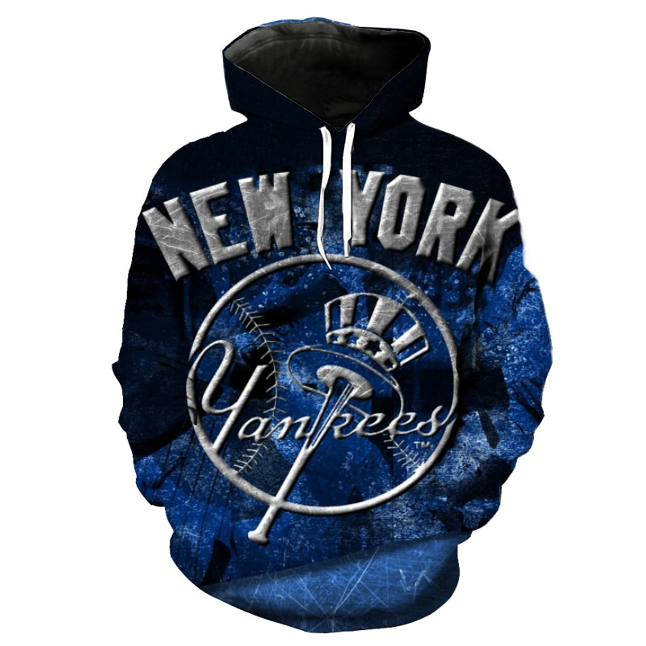 **(NEW-OFFICIALLY-LICENSED-M.L.B. NEW-YORK-YANKEES,OFFICIAL-TEAM-HOODIES/NICE-CUSTOM-DETAILED-3D-GRAPHIC-PRINTED/PREMIUM-ALL-OVER-DOUBLE-SIDED-PRINT/OFFICIAL-YANKEES-TEAM-COLORS & CLASSIC-YANKEES-HAT-AND-BAT-LOGO/DEEP-POCKETED-PULLOVER-HOODIES)**