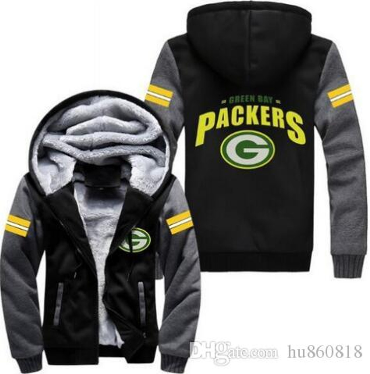 207ed987 **(LIMITED-EDITION>NEW-OFFICIALLY-LICENSED-N.F.L. GREEN-BAY-PACKERS/TRENDY-NEW-TWO-TONE-STYLE  ...