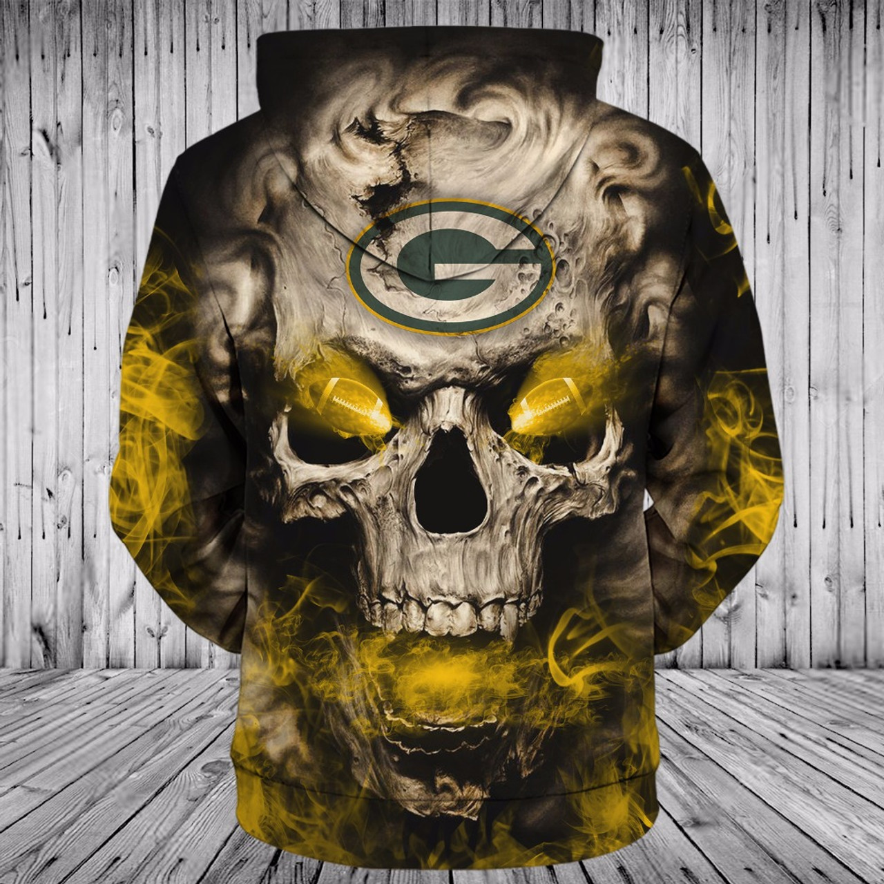 **(OFFICIALLY-LICENSED-N.F.L.GREEN-BAY-PACKERS,TRENDY-PULLOVER-HOODIES & NEON-GLOWING-FIERY-PACKERS-FOOTBALL-EYES,NICE-CUSTOM-3D-GRAPHIC-PRINTED-ALL-OVER/DOUBLE-SIDED-PACKERS-FOOTBALL-LOGO-TEAM-COLORS,PREMIUM-DEEP-POCKET-PULLOVER-HOODIES:)**