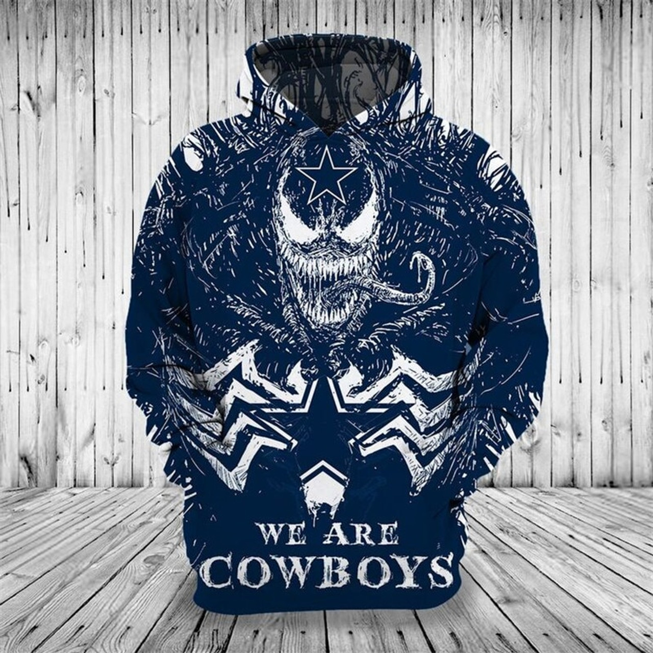 wholesale dealer ac602 fb357 **(OFFICIALLY-LICENSED-N.F.L.DALLAS-COWBOYS,CLASSIC-VENOM-HORROR-MOVIE-CHARACTER  & WE-ARE-DALLAS-COWBOYS/NICE-DETAILED-PREMIUM-CUSTOM-3D-GRAPHIC-PRINT...
