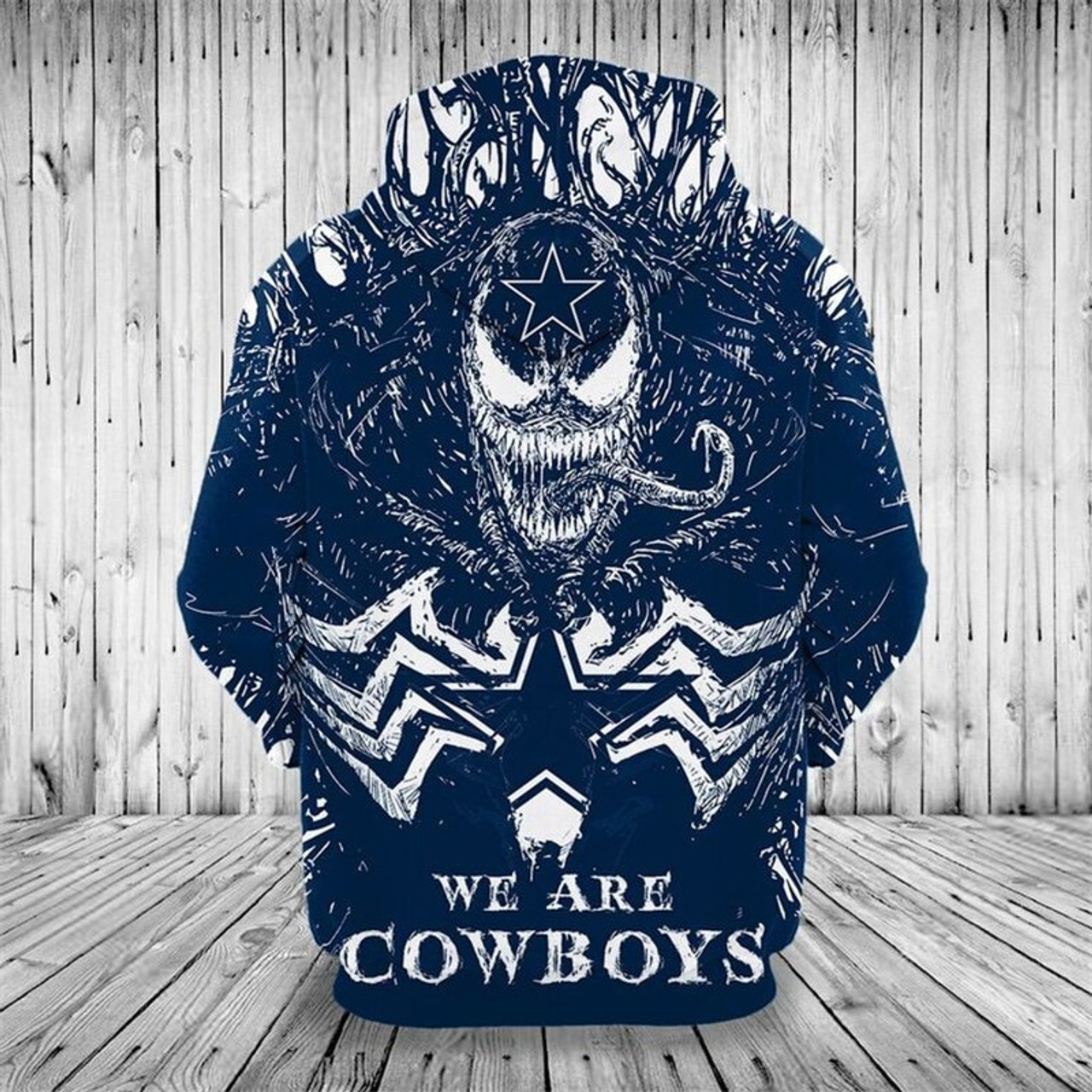 wholesale dealer 5501d cf0ae **(OFFICIALLY-LICENSED-N.F.L.DALLAS-COWBOYS,CLASSIC-VENOM-HORROR-MOVIE-CHARACTER  & WE-ARE-DALLAS-COWBOYS/NICE-DETAILED-PREMIUM-CUSTOM-3D-GRAPHIC-PRINT...