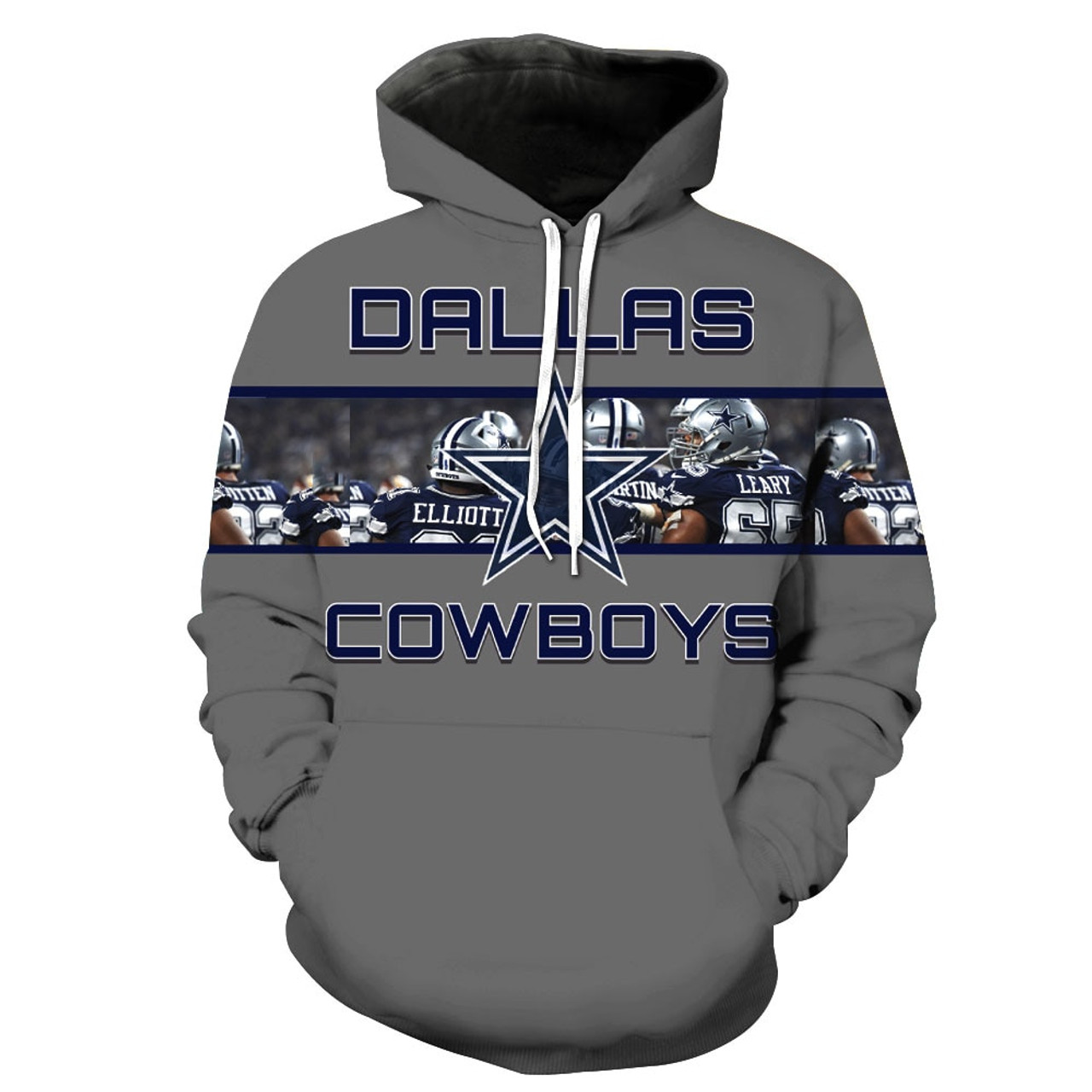 low priced bcdd4 c5022 **(OFFICIALLY-LICENSED-N.F.L.DALLAS-COWBOYS-PULLOVER-POCKET-HOODIES/OFFICIAL-3D-GRAPHIC-PRINTED-COWBOYS-LOGOS  & ...