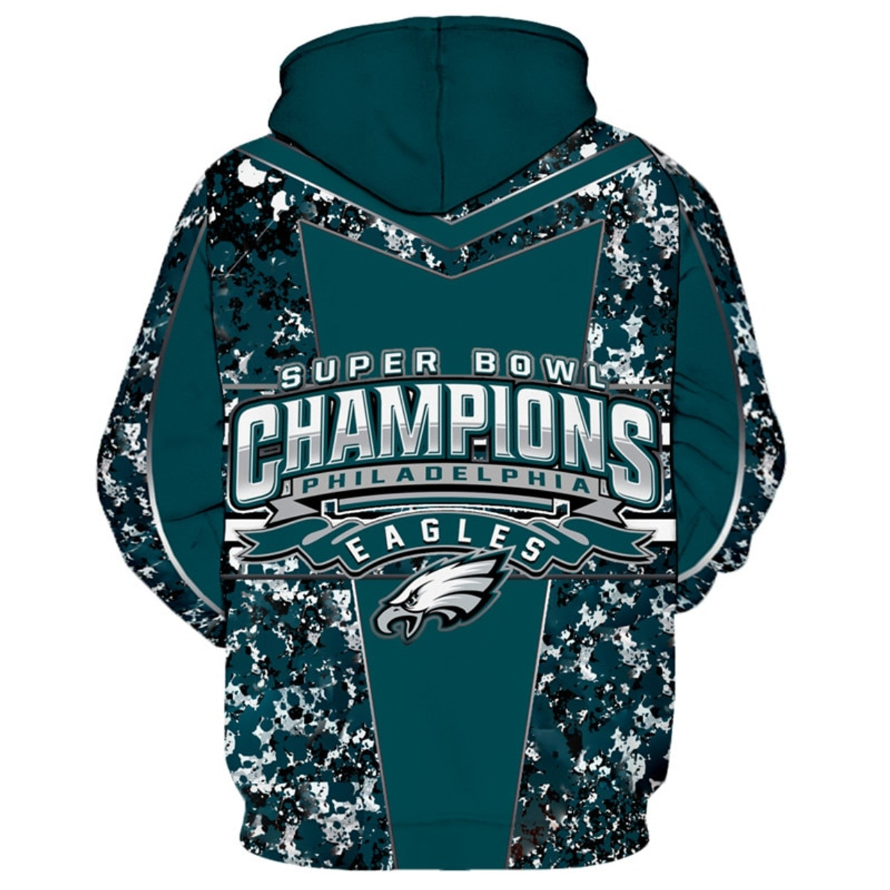 the latest e6303 bf678 **(OFFICIALLY-LICENSED-N.F.L.PHILADELPHIA-EAGLES-TEAM-PULLOVER-HOODIES/SUPER-BOWL-LII-CHAMPIONS-BACK-SIDED-GRAPHICS  & ...