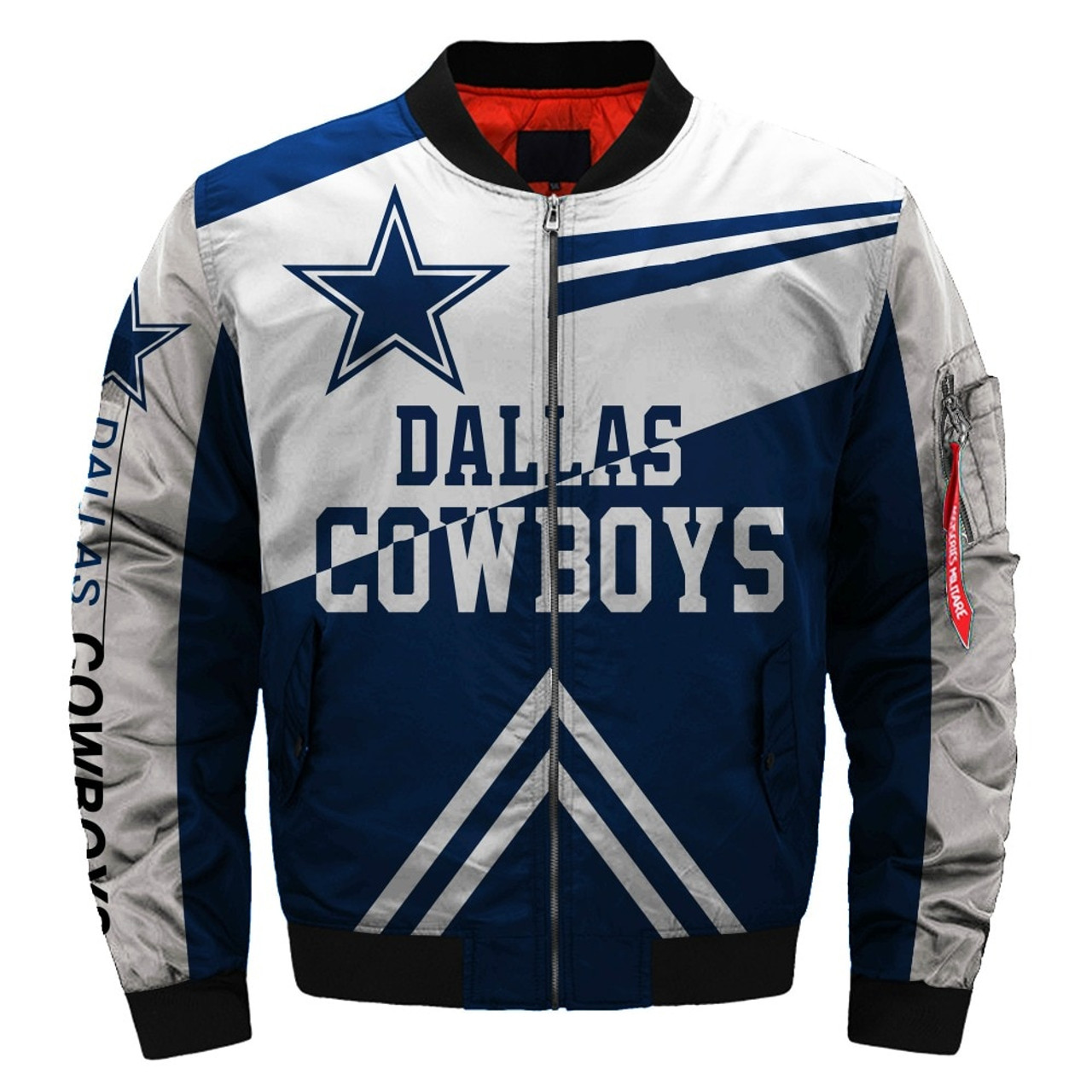 premium selection a4d9d 15518 **(OFFICIALLY-LICENSED-N.F.L.DALLAS-COWBOYS-JACKETS/CLASSIC-COWBOYS-TEAM-COLORS  & OFFICIAL-COWBOYS-LOGOS,BOMBER/MA-1 ...