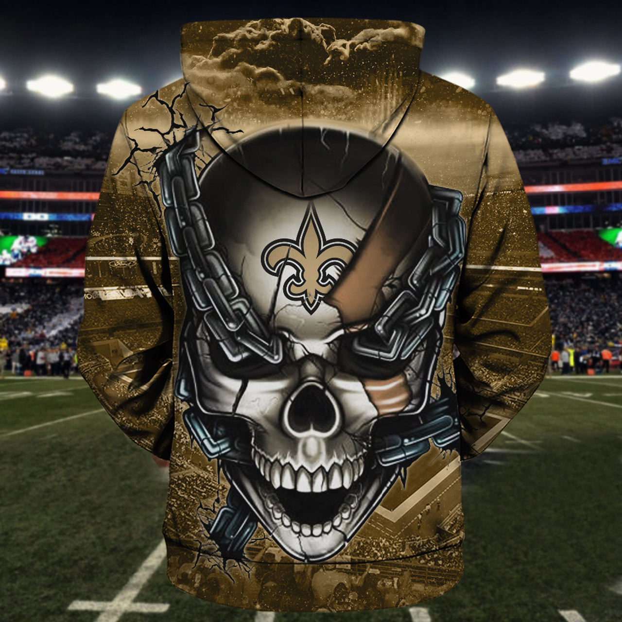 **(OFFICIAL-N.F.L.NEW-ORLEANS-SAINTS-TEAM-FOOTBALL-ZIPPERED-HOODIES & SAINTS-TEAM-LOGO-SKULL/NEW-ORLEANS-CITY-CHAINS,NICE-CUSTOM-3D-GRAPHIC-PRINTED-DOUBLE-SIDED-TEAM-LOGOS & ALL-OVER-PRINTED-DESIGN/OFFICIAL-SAINTS-FOOTBALL-TEAM-ZIPPERED-HOODIES)**