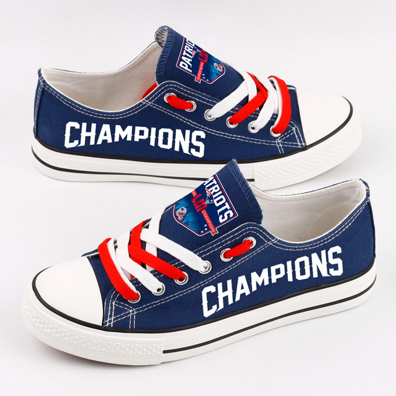 ccc2a30e **(OFFICIALLY-LICENSED-N.F.L.NEW-ENGLAND-PATRIOTS-SUPER-BOWL-CHAMPIONS-RUNNING-SHOES/MENS-OR-WOMENS-ROSHE-STYLE,LIGHT-WEIGHT-SPORT-PREMIUM-RUNNING-SHO...