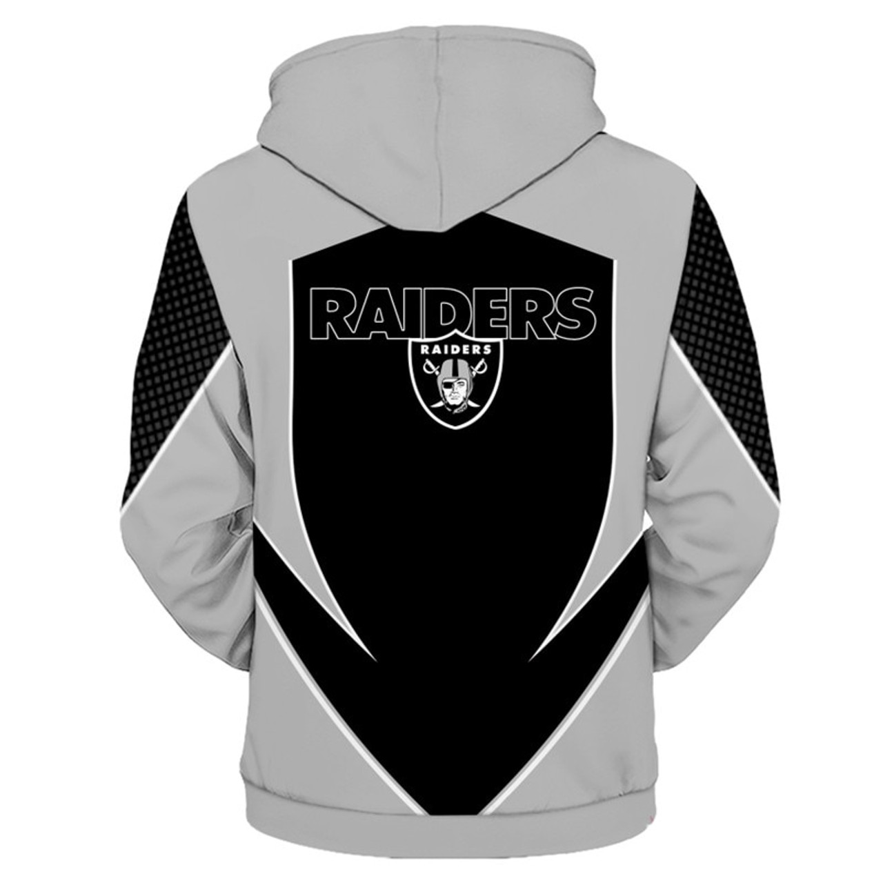 0564a76646b **(OFFICIALLY-LICENSED-N.F.L.OAKLAND-RAIDERS-TEAM-PULLOVER-HOODIES/NEW-CUSTOM-3D-GRAPHIC-PRINTED-DOUBLE-SIDED-ALL-OVER-OFFICIAL-RAIDERS-LOGOS  & ...