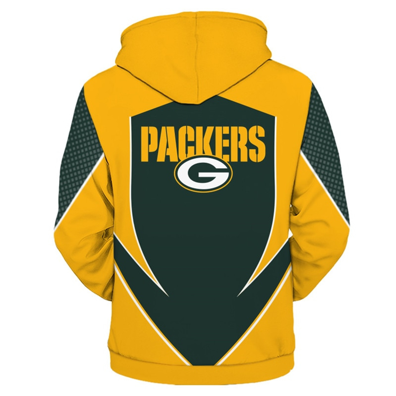 various colors ab409 34ac4 **(OFFICIAL-N.F.L.GREEN-BAY-PACKERS-TEAM-ZIPPERED-HOODIES/NEW-CUSTOM-3D-GRAPHIC-PRINTED-DOUBLE-SIDED-DESIGNED/ALL-OVER-OFFICIAL-PACKERS-LOGOS  & ...