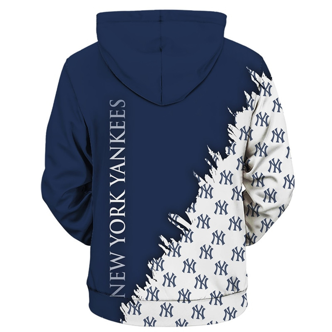 **(OFFICIALLY-LICENSED-M.L.B. NEW-YORK-YANKEES-TEAM-HOODIES/NICE-CUSTOM-DETAILED-3D-GRAPHIC-PRINTED/PREMIUM-ALL-OVER-DOUBLE-SIDED-PRINT/OFFICIAL-YANKEES-TEAM-COLORS & CLASSIC-YANKEES-BASEBALL-3D-GRAPHIC-LOGOS/PREMIUM-PULLOVER-POCKET-M.L.B.HOODIES)**