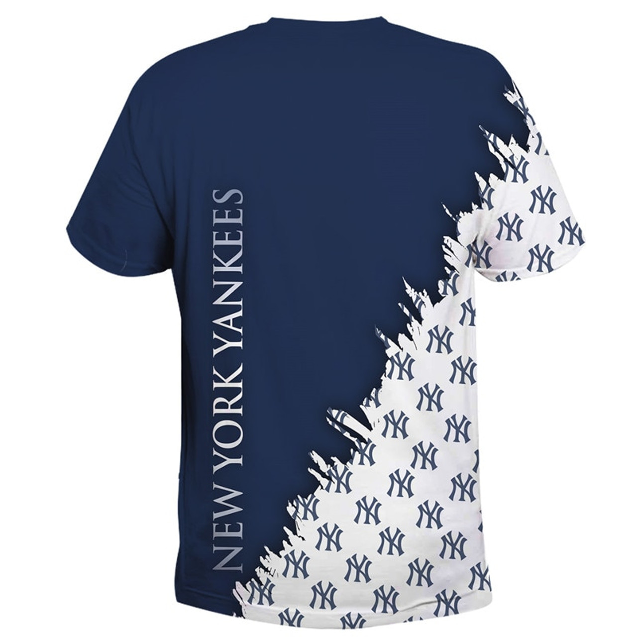 **(OFFICIALLY-LICENSED-M.L.B. NEW-YORK-YANKEES-TEAM-TEES/NICE-CUSTOM-DETAILED-3D-GRAPHIC-PRINTED/PREMIUM-ALL-OVER-DOUBLE-SIDED-PRINT/OFFICIAL-YANKEES-TEAM-COLORS & CLASSIC-YANKEES-BASEBALL-3D-GRAPHIC-LOGOS/PREMIUM-YANKEES-TEAM-TEES)**