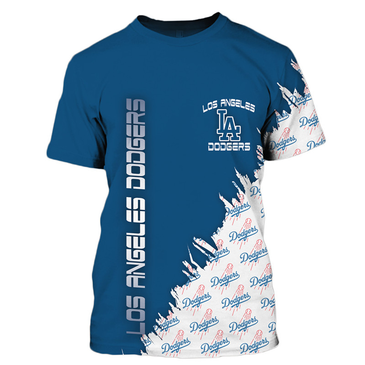 **(OFFICIAL-M.L.B.LOS-ANGELES-DODGERS-TEAM-TEES/NICE-CUSTOM-DETAILED-3D-GRAPHIC-PRINTED/PREMIUM-ALL-OVER-DOUBLE-SIDED-PRINT/OFFICIAL-DODGERS-TEAM-COLORS & CLASSIC-DODGERS-BASEBALL-3D-GRAPHIC-LOGOS/PREMIUM-CUSTOM-M.L.B.OFFICIAL-DODGERS-TEAM-TEES)**