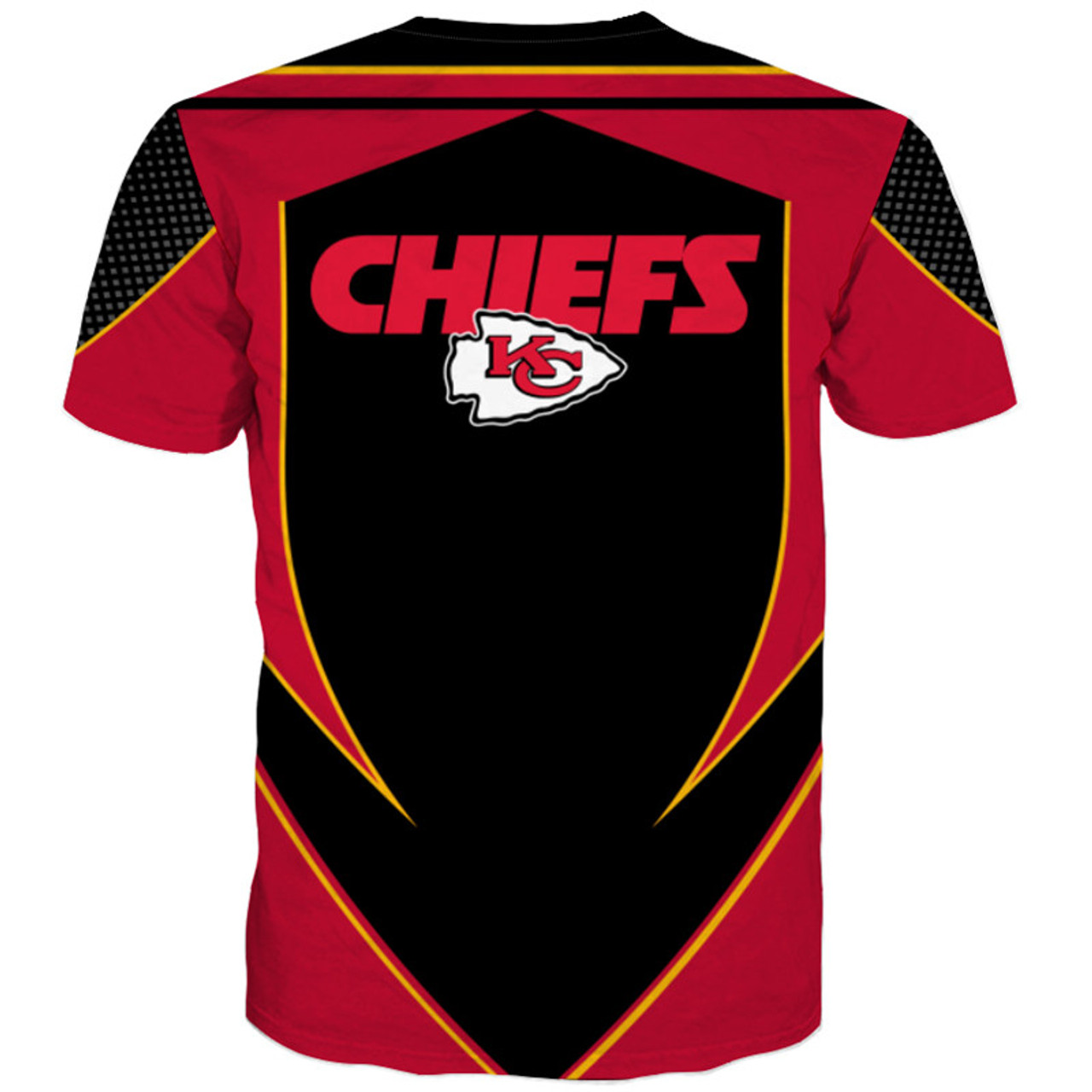 **(OFFICIAL-N.F.L.KANSAS-CITY-CHIEFS-TEAM-TEES/NEW-CUSTOM-3D-EFFECT-GRAPHIC-PRINTED-DOUBLE-SIDED-DESIGNED/ALL-OVER-OFFICIAL-CHIEFS-LOGOS & IN-OFFICIAL-ALL-CHIEFS-TEAM-COLORS/NICE-PREMIUM-OFFICIAL-N.F.L.CHIEFS-TRENDY-TEAM-TEES)**