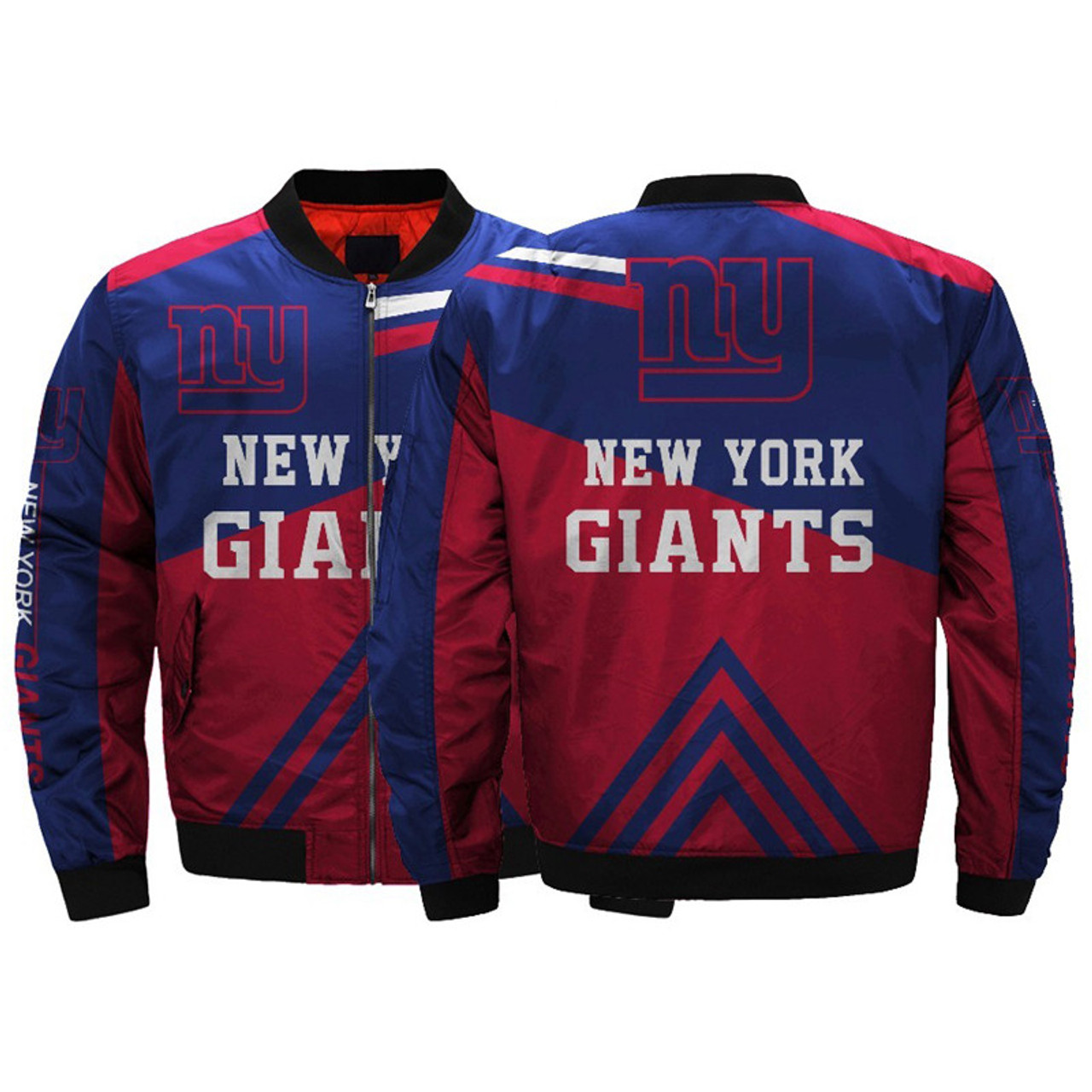 promo code 0e46e 47c89 **(OFFICIALLY-LICENSED-N.F.L.NEW-YORK-GIANTS/CLASSIC-GIANTS-OFFICIAL-TEAM-COLORS  & OFFICIAL-GIANTS-LOGOS,CLASSIC-BOMBER/MA-1 FLIGHT-JACKET & ...