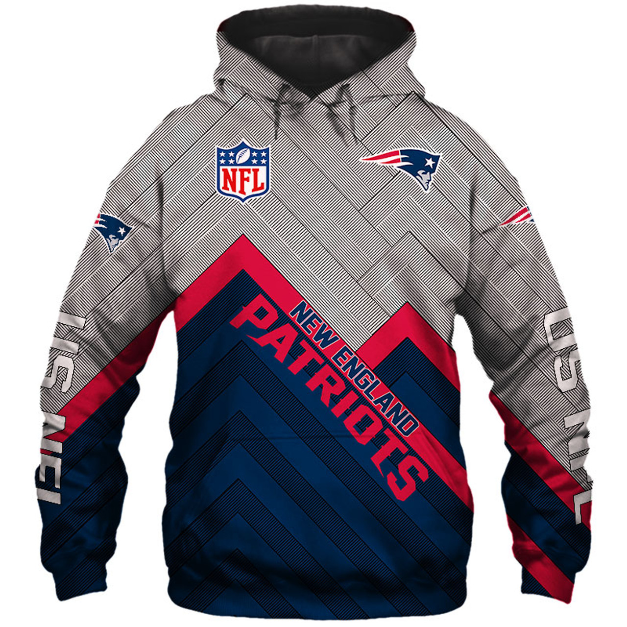 new concept 36c77 d3fce **(OFFICIAL-NEW-N.F.L.NEW-ENGLAND-PATRIOTS-PULLOVER-HOODIES/3D-CUSTOM-PATRIOTS-LOGOS  & OFFICIAL-PATRIOTS-TEAM-COLORS/NICE-3D-DETAILED-GRAPHIC-PRINTED-...