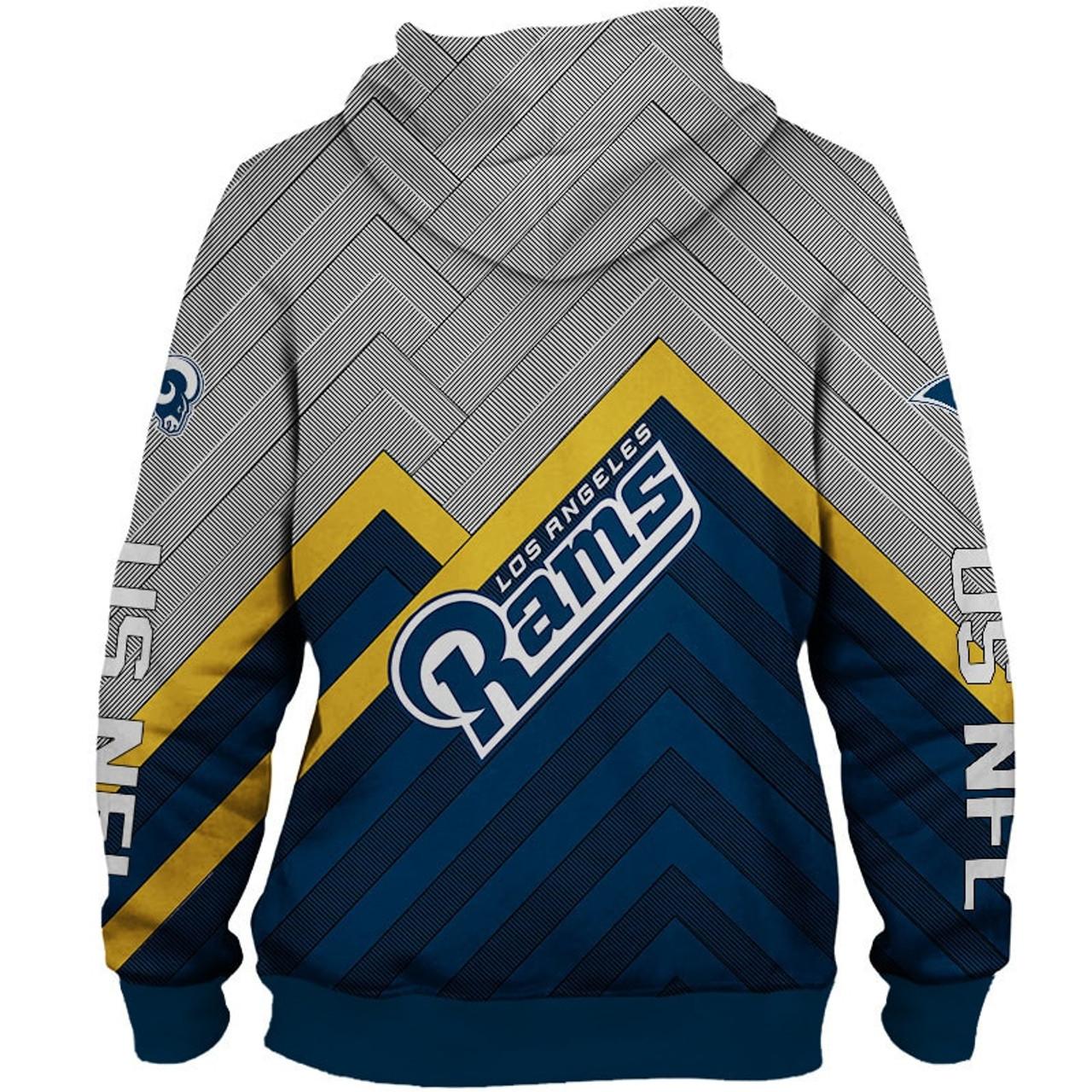 rams hooded sweatshirts