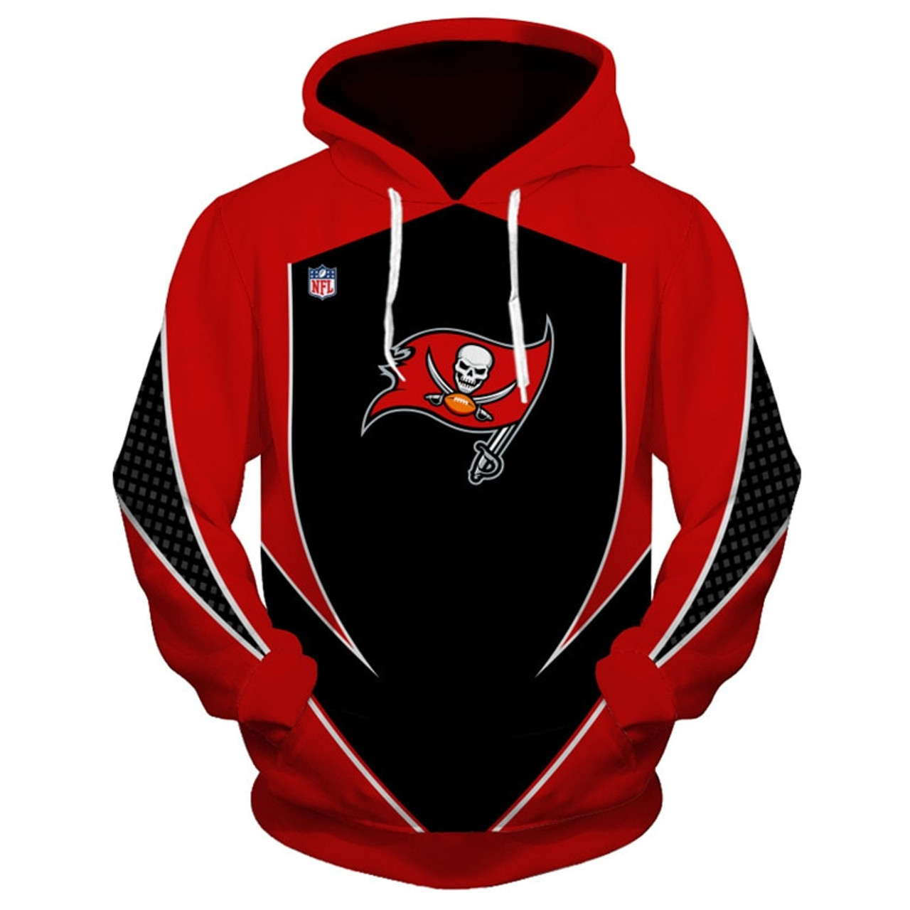 official n f l tampa bay buccaneers team pullover hoodies new custom 3d graphic printed double sided designed official n f l tampa bay buccaneers team pullover hoodies new custom 3d graphic printed double sided designed all over official buccaneers logos