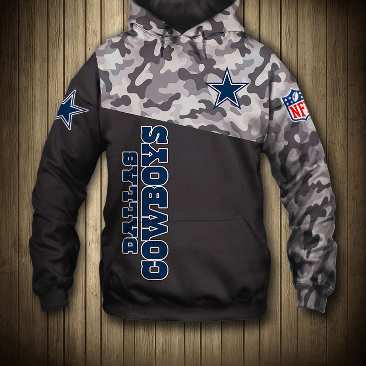another chance 737db cfd87 **(OFFICIAL-N.F.L.NEW-DALLAS-COWBOYS-CAMO.DESIGN-PULLOVER-HOODIES/3D-CUSTOM-COWBOYS-LOGOS  & OFFICIAL-COWBOYS-TEAM-COLORS/NICE-3D-DETAILED-GRAPHIC-PRIN...
