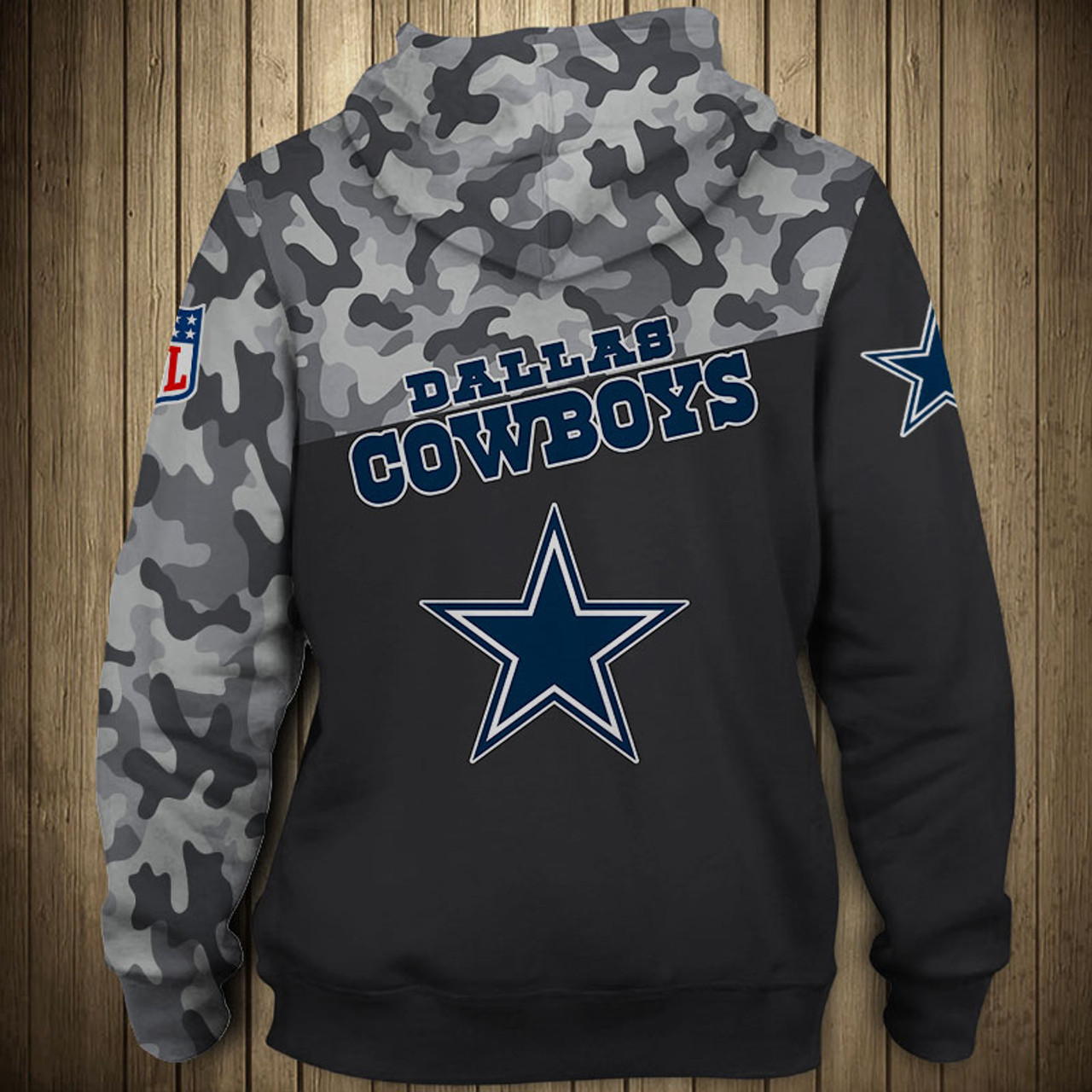 another chance 31a25 b432e **(OFFICIAL-N.F.L.NEW-DALLAS-COWBOYS-CAMO.DESIGN-PULLOVER-HOODIES/3D-CUSTOM-COWBOYS-LOGOS  & OFFICIAL-COWBOYS-TEAM-COLORS/NICE-3D-DETAILED-GRAPHIC-PRIN...