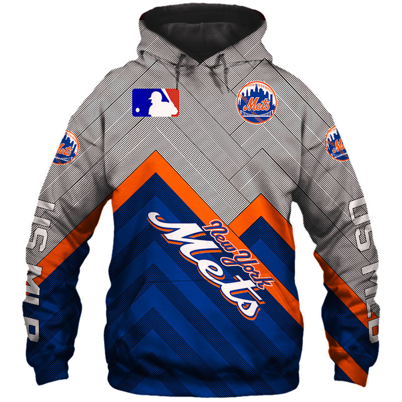 quality design 0344d 67bf8 **(OFFICIAL-M.L.B.NEW-YORK-METS-TEAM-PULLOVER-HOODIES/CUSTOM-DETAILED-3D-GRAPHIC-PRINTED/PREMIUM-ALL-OVER-DOUBLE-SIDED-PRINT/OFFICIAL-METS-TEAM-COLORS  ...