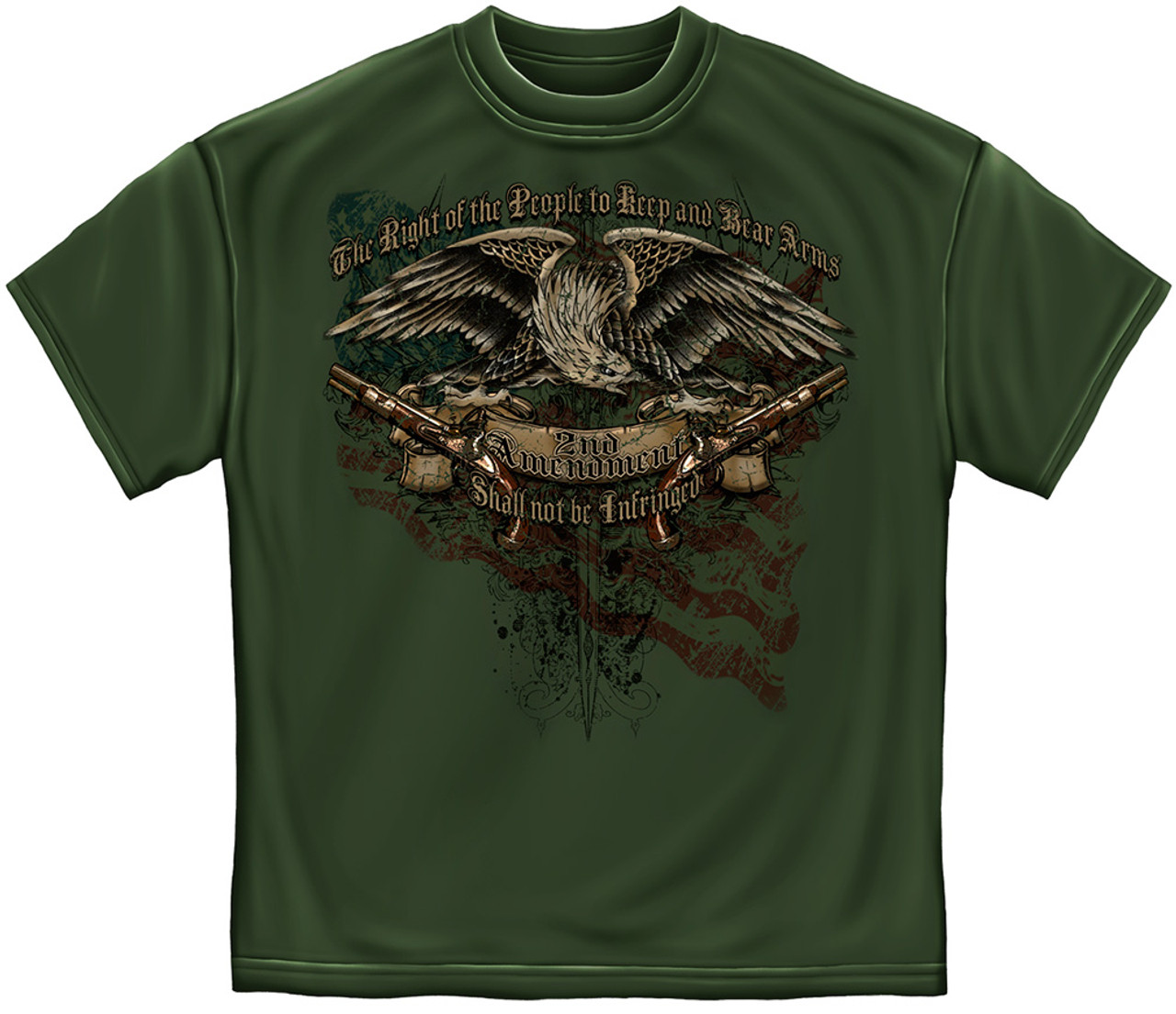 """**(NEW-TRENDY-OFFICIALLY-LICENSED,""""2ND-ADMENDMENT-SHALL-NOT-BE-INFRINGED & THE-RIGHT-OF-THE-PEOPLE-TO-KEEP/BEAR-ARMS"""",NICE-GRAPHIC-PRINTED-PREMIUM-DOUBLE-SIDED-TEES:)**"""