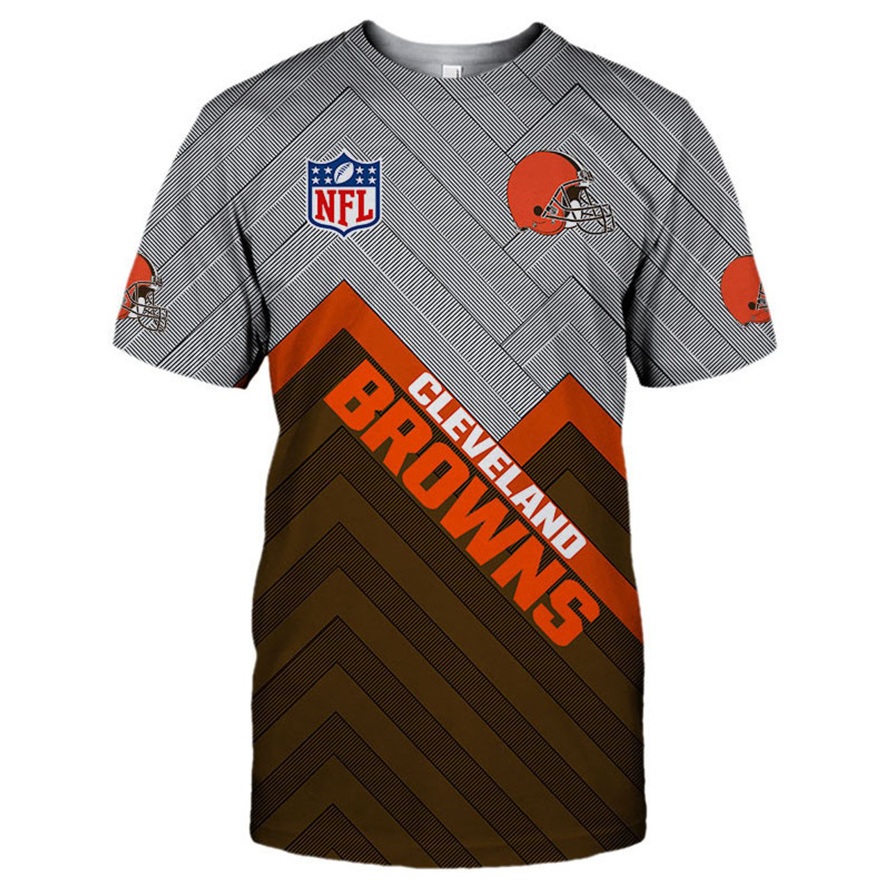 **(NEW-OFFICIAL-N.F.L.CLEVELAND-BROWNS-TEAM-TEES/NICE-3D-CUSTOM-BROWNS-LOGOS & OFFICIAL-BROWNS-CLASSIC-TEAM-COLORS/NICE-3D-DETAILED-GRAPHIC-PRINTED-DOUBLE-SIDED/ALL-OVER-ENTIRE-TEE-SHIRT-PRINTED-DESIGN/TRENDY-PREMIUM-N.F.L.BROWNS-TEES)**