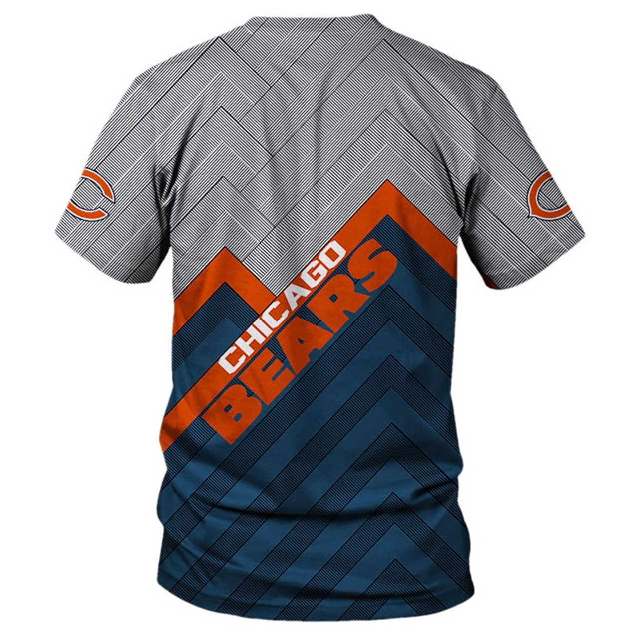 **(NEW-OFFICIAL-N.F.L.CHICAGO-BEARS-TEAM-TEES/NICE-3D-CUSTOM-BEARS-LOGOS & OFFICIAL-BEARS-CLASSIC-TEAM-COLORS/NICE-3D-DETAILED-GRAPHIC-PRINTED-DOUBLE-SIDED/ALL-OVER-ENTIRE-TEE-SHIRT-PRINTED-DESIGN/TRENDY-PREMIUM-N.F.L.CHICAGO-BEARS-TEES)**