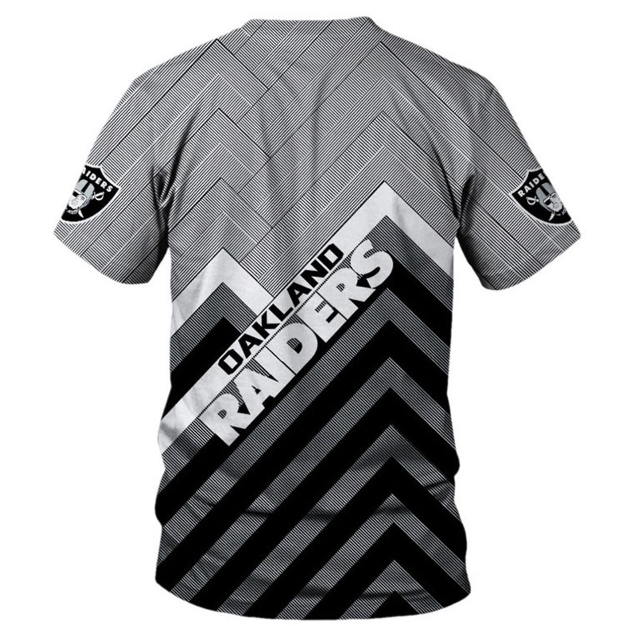 custom raiders shirt