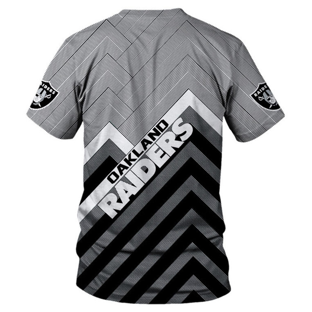 **(OFFICIAL-N.F.L.LOS-OAKLAND-RAIDERS-TEAM-TEES/NICE-3D-CUSTOM-RAIDERS-LOGOS & OFFICIAL-RAIDERS-CLASSIC-TEAM-COLORS/NICE-3D-DETAILED-GRAPHIC-PRINTED-DOUBLE-SIDED/ALL-OVER-ENTIRE-TEE-SHIRT-PRINTED-DESIGN/TRENDY-PREMIUM-N.F.L.OAKLAND-RAIDERS-TEES)**