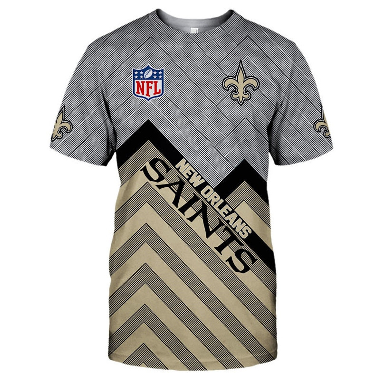 custom saints t shirts