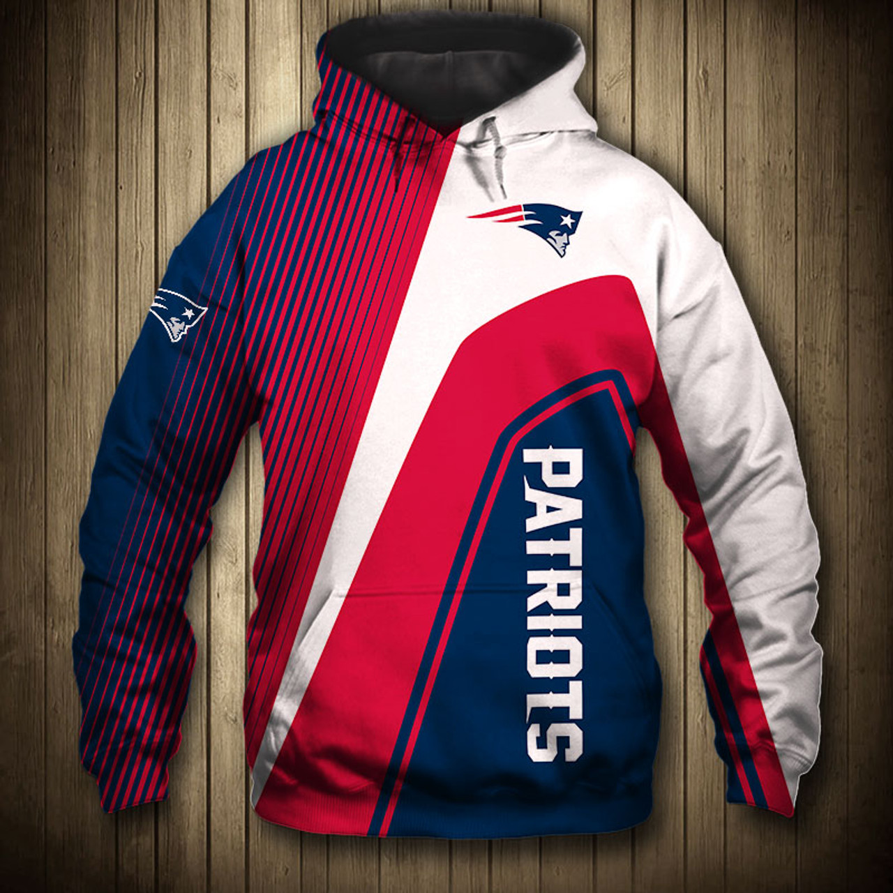 best service bd2c5 08222 **(OFFICIAL-N.F.L.NEW-ENGLAND-PATRIOTS-PULLOVER-HOODIES/3D-CUSTOM-PATRIOTS-LOGOS  & OFFICIAL-PATRIOTS-TEAM-COLORS/NICE-3D-DETAILED-GRAPHIC-PRINTED-DOUB...