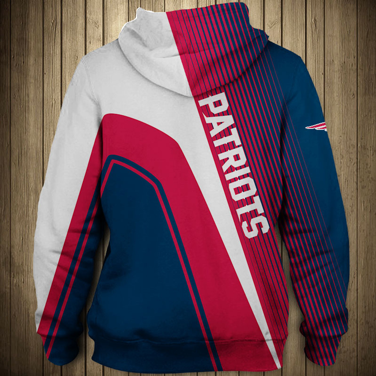 best service 1dfd1 6a1ba **(OFFICIAL-N.F.L.NEW-ENGLAND-PATRIOTS-PULLOVER-HOODIES/3D-CUSTOM-PATRIOTS-LOGOS  & OFFICIAL-PATRIOTS-TEAM-COLORS/NICE-3D-DETAILED-GRAPHIC-PRINTED-DOUB...