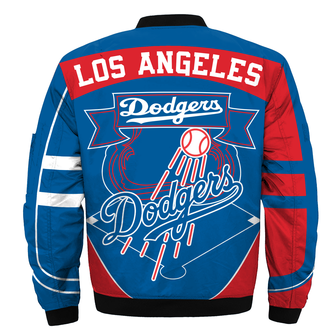 **(OFFICIAL-M.L.B.LOS-ANGELES-DODGERS-TEAM-FLIGHT-JACKETS/NICE-CUSTOM-DETAILED-3D-GRAPHIC-PRINTED/PREMIUM-ALL-OVER-DOUBLE-SIDED-PRINTING/OFFICIAL-DODGERS-TEAM-COLORS & CLASSIC-DODGERS-3D-LOGOS/PREMIUM-ZIPPERED-FRONT-BOMBER/FLIGHT-M.L.B.JACKETS)**