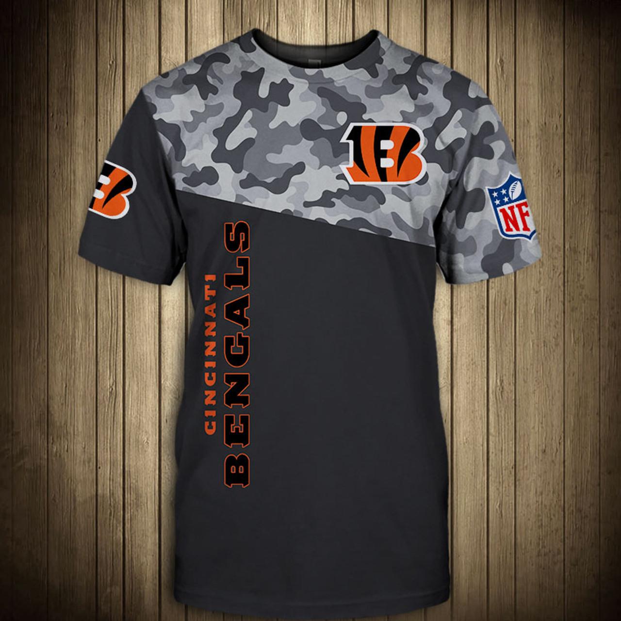 Cincinnati Bengals American Football Team Skull Rock With Beanie T Shirt