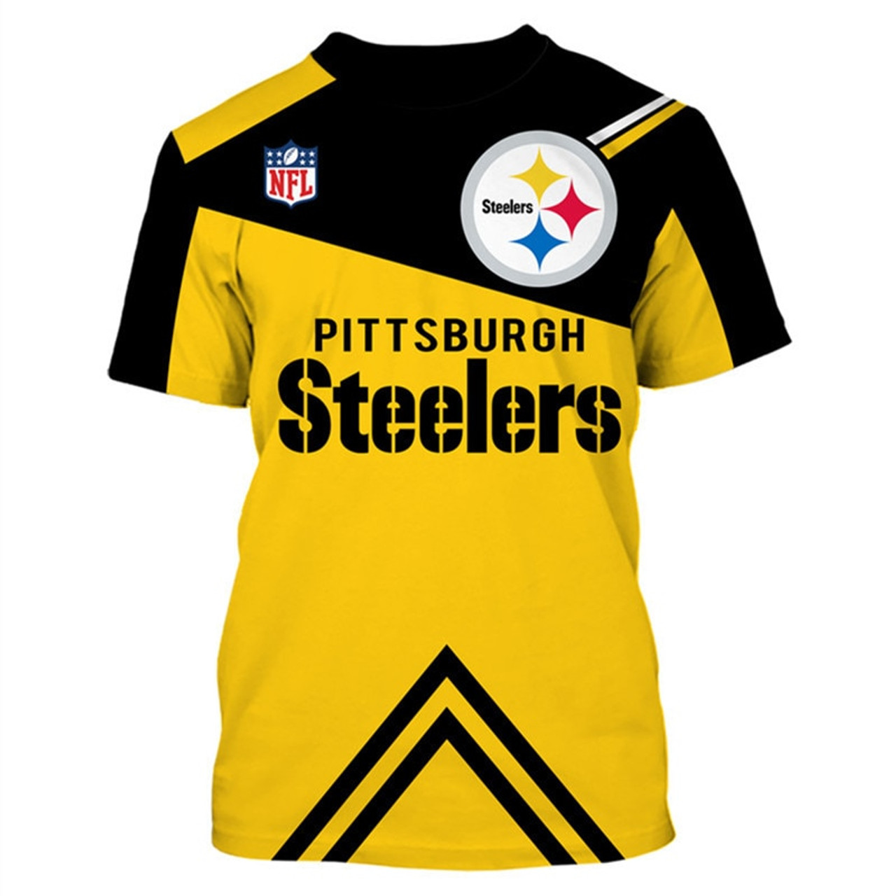 reputable site 4601c 58ff8 **(OFFICIAL-NEW-N.F.L.PITTSBURGH-STEELERS-TRENDY-TEAM-TEES/CUSTOM-3D-STEELERS-OFFICIAL-LOGOS  & OFFICIAL-CLASSIC-STEELERS-TEAM-COLORS/DETAILED-3D-GRAPH...