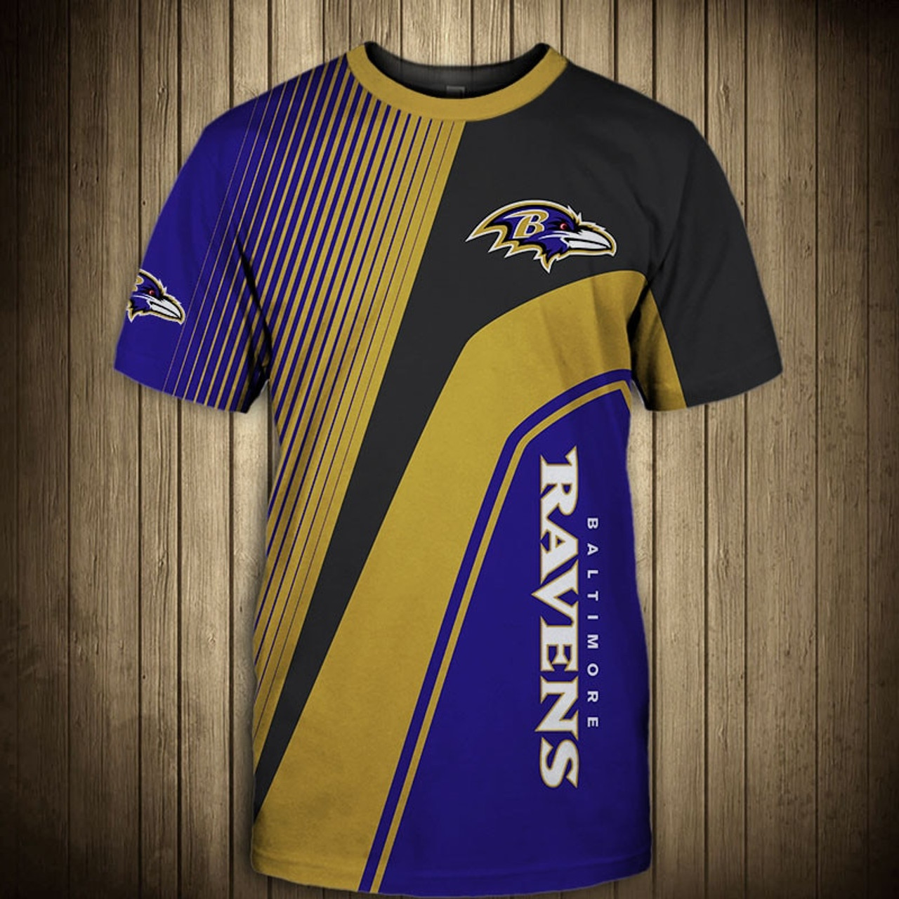 744670951 **(OFFICIAL-NEW-N.F.L.BALTIMORE-RAVENS-TRENDY-TEAM-TEES/CUSTOM-3D-RAVENS- OFFICIAL-LOGOS ...