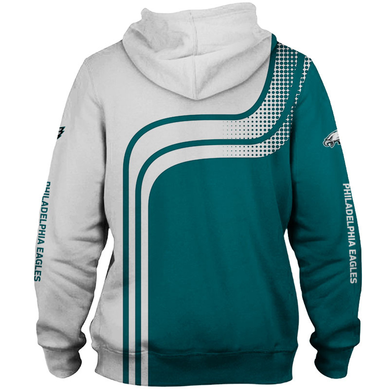 cheap for discount 5d746 c8f29 **(OFFICIAL-N.F.L.PHILADELPHIA-EAGLES-PULLOVER-HOODIES/3D-CUSTOM-EAGLES-LOGOS  & OFFICIAL-EAGLES-TEAM-COLORS/NICE-3D-DETAILED-GRAPHIC-PRINTED-DOUBLE-SI...