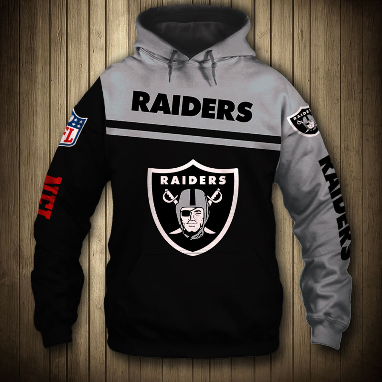**(OFFICIAL-NEW-N.F.L.OAKLAND-RAIDERS-TEAM-PULLOVER-HOODIES/NICE-CUSTOM-3D-GRAPHIC-PRINTED-DOUBLE-SIDED-ALL-OVER-GRAPHIC-RAIDERS-LOGOS & OFFICIAL-RAIDERS-TEAM-COLORS/WARM-PREMIUM-OFFICIAL-N.F.L.RAIDERS-TEAM-TRENDY-PULLOVER-GAME-DAY-HOODIES)**