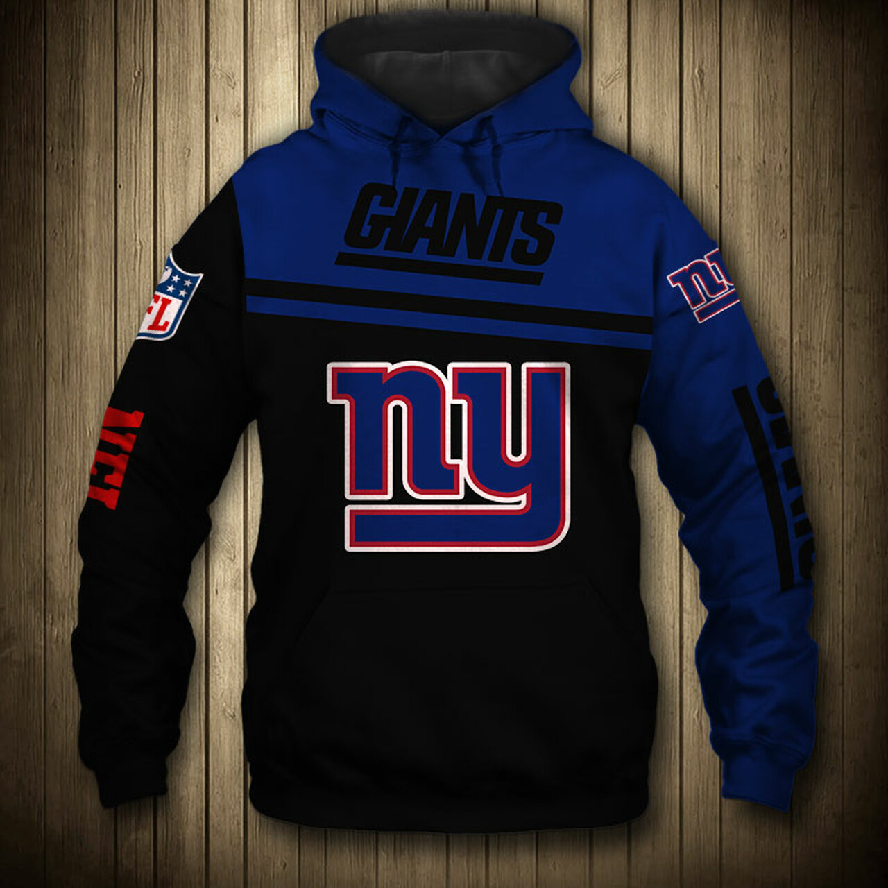 ac3e5746 **(OFFICIAL-NEW-N.F.L.NEW-YORK-GIANTS-TEAM-PULLOVER-HOODIES/NICE-CUSTOM-3D-GRAPHIC-PRINTED-DOUBLE-SIDED-ALL-OVER-GRAPHIC-GIANTS-LOGOS  & ...