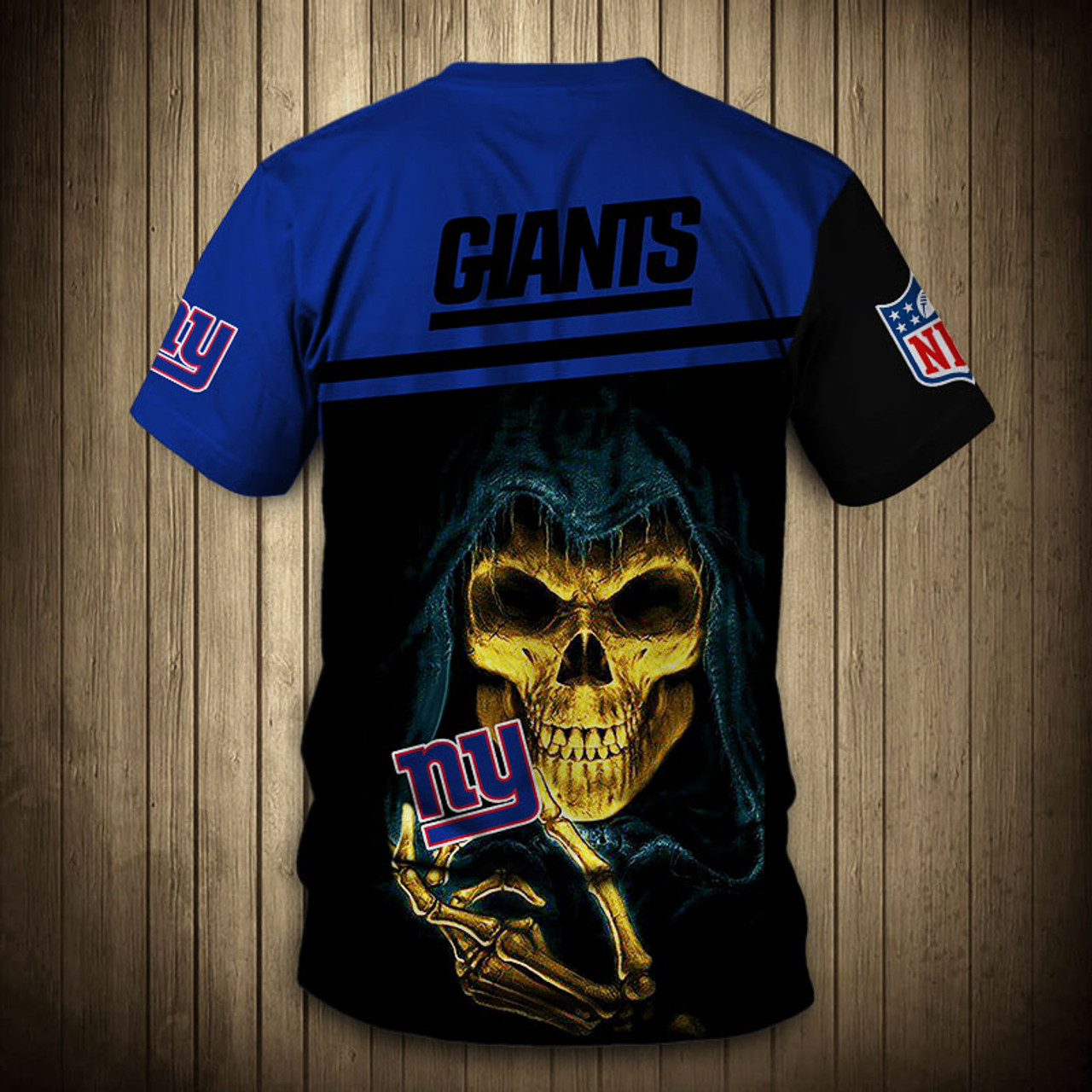 473ebd42 **(OFFICIAL-N.F.L.NEW-YORK-GIANTS-TRENDY-TEAM-TEES/CUSTOM-3D-GIANTS-OFFICIAL-LOGOS  & OFFICIAL-CLASSIC-GIANTS-TEAM-COLORS/DETAILED-3D-GRAPHIC-PRINTED-D...