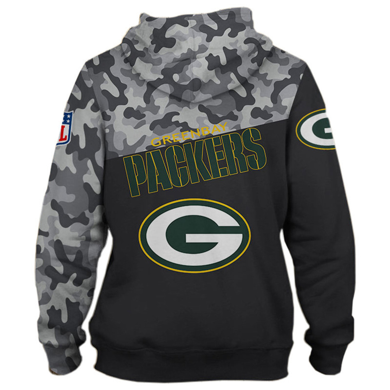 release date 7b0bc f88e7 **(OFFICIAL-N.F.L.GREEN-BAY-PACKERS-CAMO.DESIGN-ZIPPERED-HOODIES/3D-CUSTOM-PACKERS-LOGOS  & OFFICIAL-PACKERS-TEAM-COLORS/NICE-3D-DETAILED-GRAPHIC-PRINT...