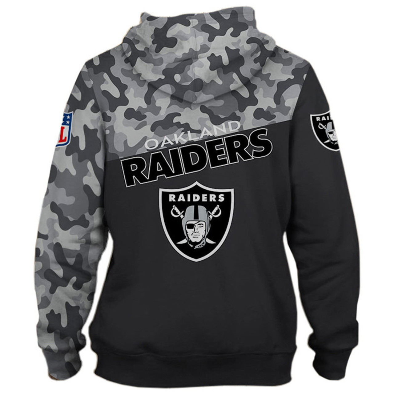 **(OFFICIAL-N.F.L.OAKLAND-RAIDERS-CAMO.DESIGN-ZIPPERED-HOODIES/3D-CUSTOM-RAIDERS-LOGOS & OFFICIAL-RAIDERS-TEAM-COLORS/NICE-3D-DETAILED-GRAPHIC-PRINTED-DOUBLE-SIDED/ALL-OVER-HOODIE-PRINTED-DESIGN/WARM-PREMIUM-N.F.L.RAIDERS-ZIPPERED-CAMO.HOODIES)**
