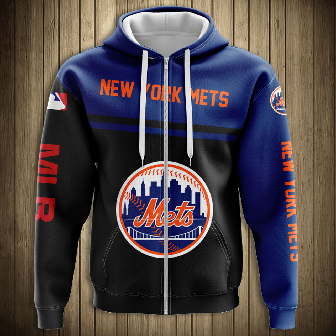 new concept 0041c 8d309 **(OFFICIAL-M.L.B.NEW-YORK-METS-TEAM-ZIPPERED-HOODIES/NICE-CUSTOM-DETAILED-3D-GRAPHIC-PRINTED/PREMIUM-ALL-OVER-DOUBLE-SIDED-PRINT/OFFICIAL-METS-TEAM-C...