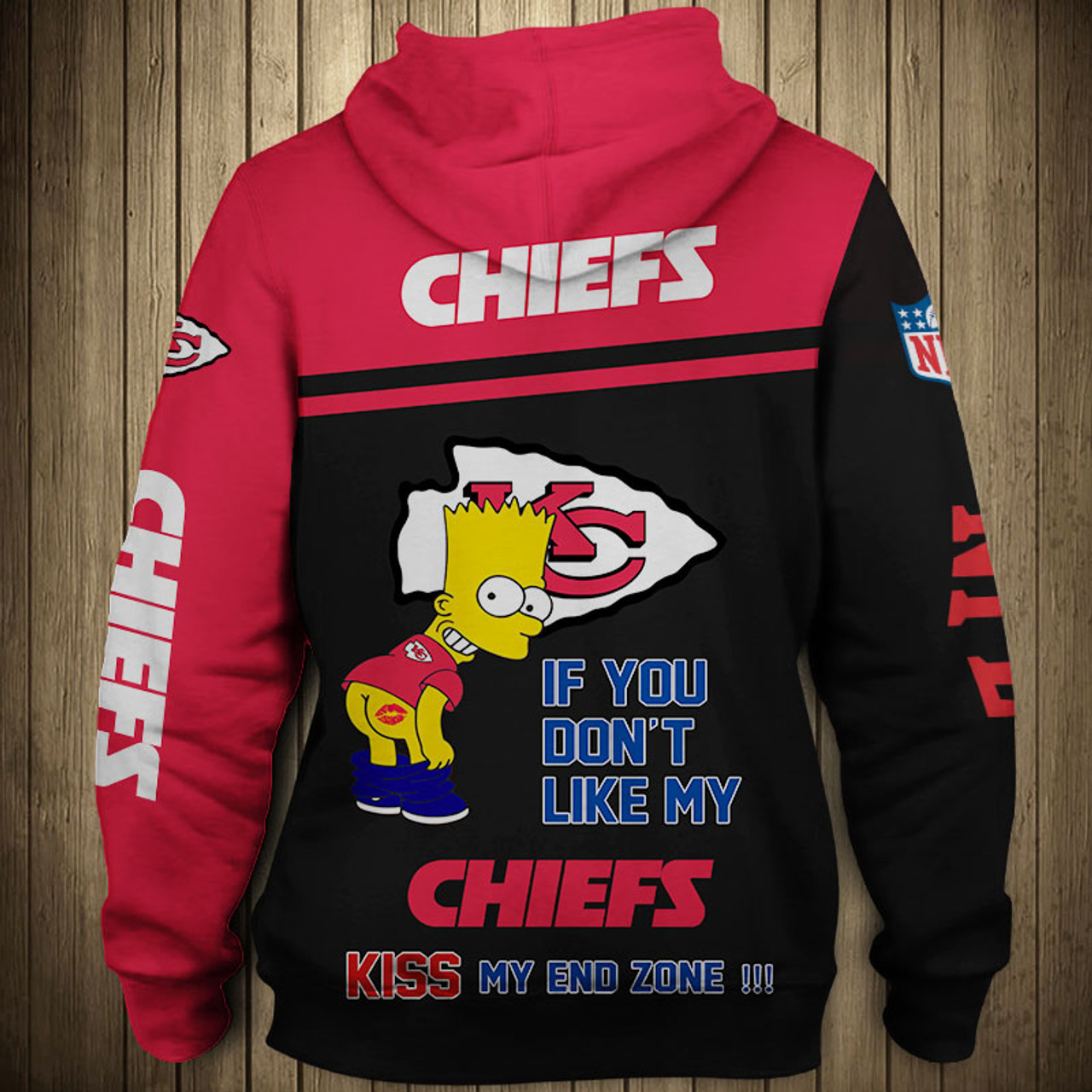 sports shoes d14c9 92b33 **(OFFICIAL-N.F.L.KANSAS-CITY-CHIEFS-PULLOVER-HOODIES/3D-CUSTOM-CHIEFS-LOGOS  & OFFICIAL-CHIEFS-TEAM-COLORS/CUSTOM-3D-DETAILED-GRAPHIC-PRINTED-DOUBLE-S...
